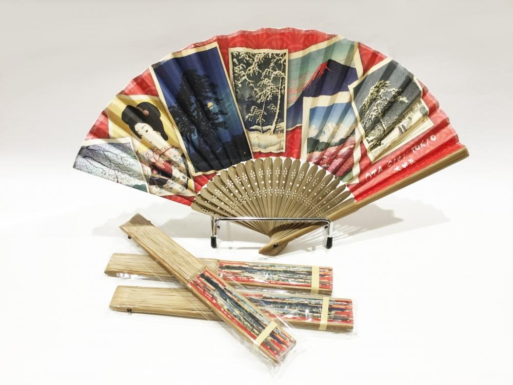 Kawase Hasui Paper Fan